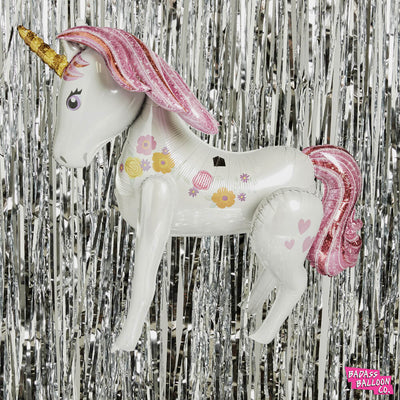 Unicorn Airwalker 3D Unicorn Balloon