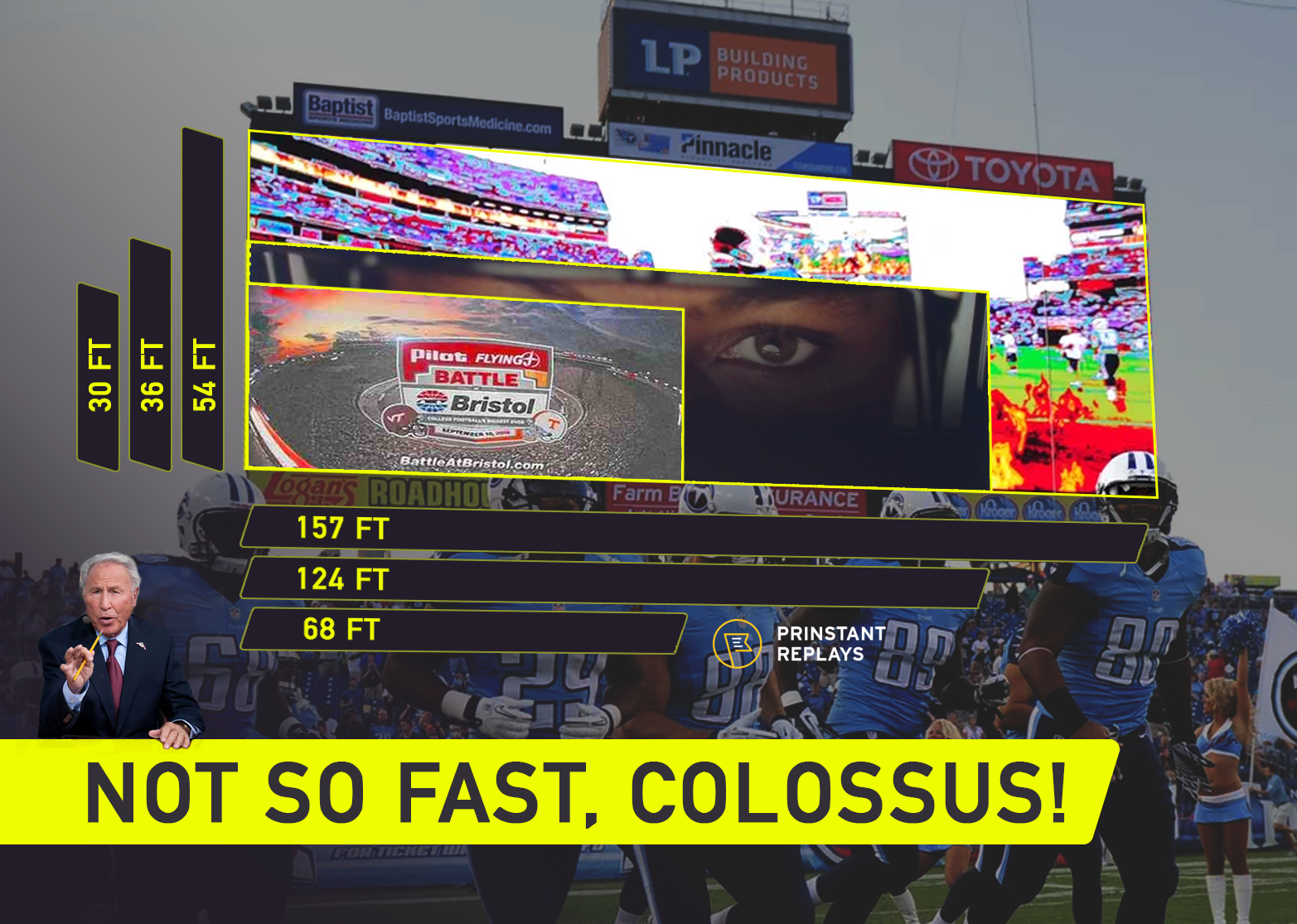Colossus Scoreboard size by Prinstant Replays