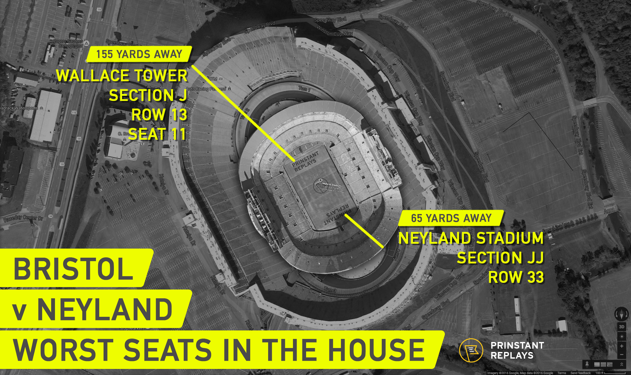 Bristol compared to Neyland Worst Seats by Prinstant Replays