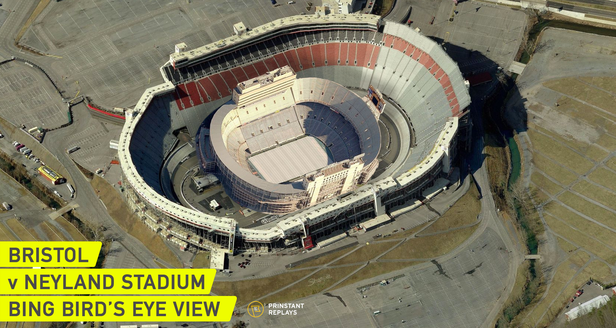 Neyland inside Bristol Bird's Eye View by Prinstant Replays