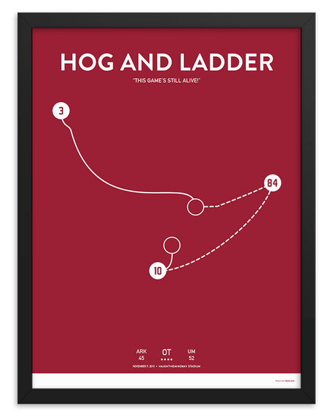 Hog and Ladder Poster