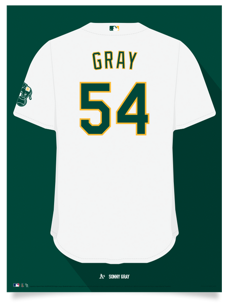 Athletics Sonny Gray Jersey Print