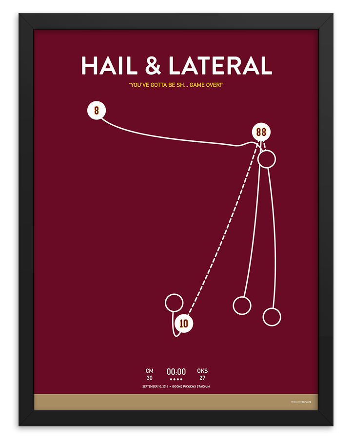 Hail & Lateral Poster