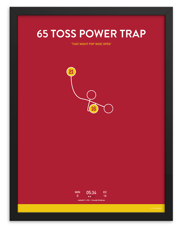 65 Toss Power Trap