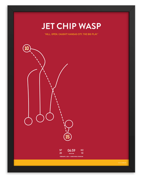 Jet Chip Wasp Poster