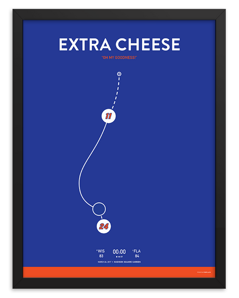 Extra Cheese Shot Poster