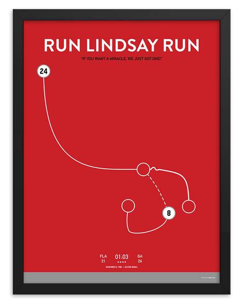 Run Lindsay Run Poster