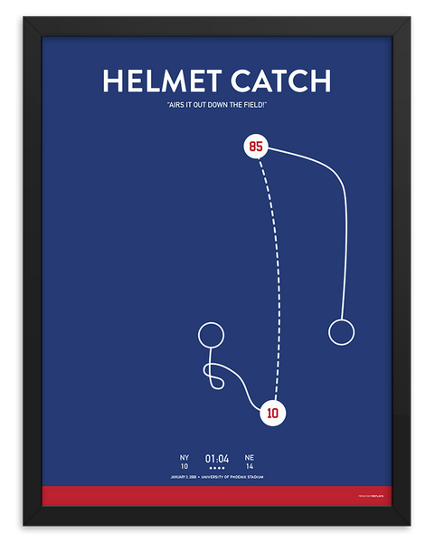 The Helmet Catch Poster