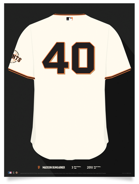 Giants Madison Bumgarner Jersey Print