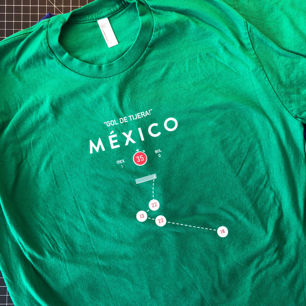 Mexico Goal De Tijera Shirt - Large