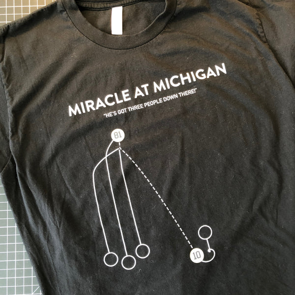 Miracle at Michigan Shirt - Large