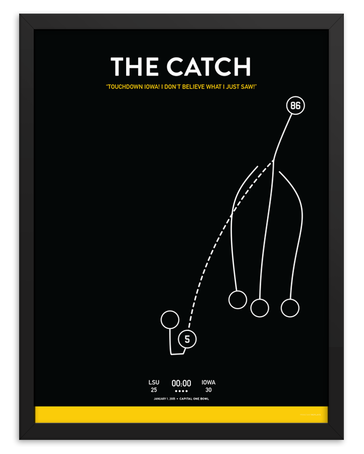 Iowa The Catch Poster