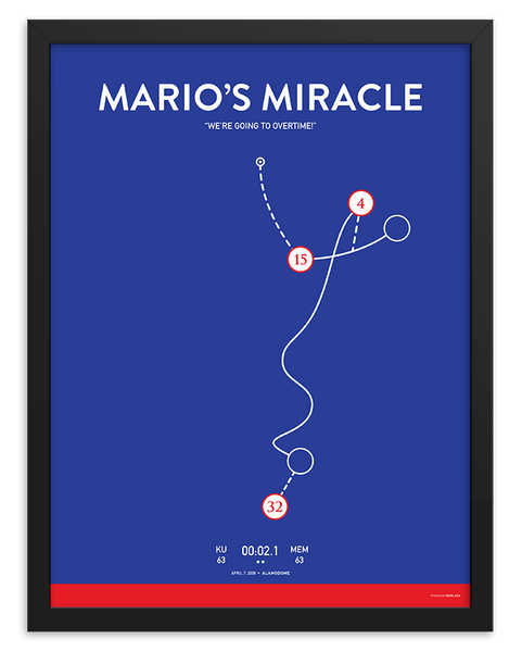 Mario's Miracle Poster