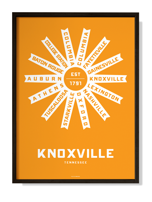 Knoxville, Tennessee Print