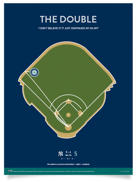 "Mariners ""The Double"" Print"