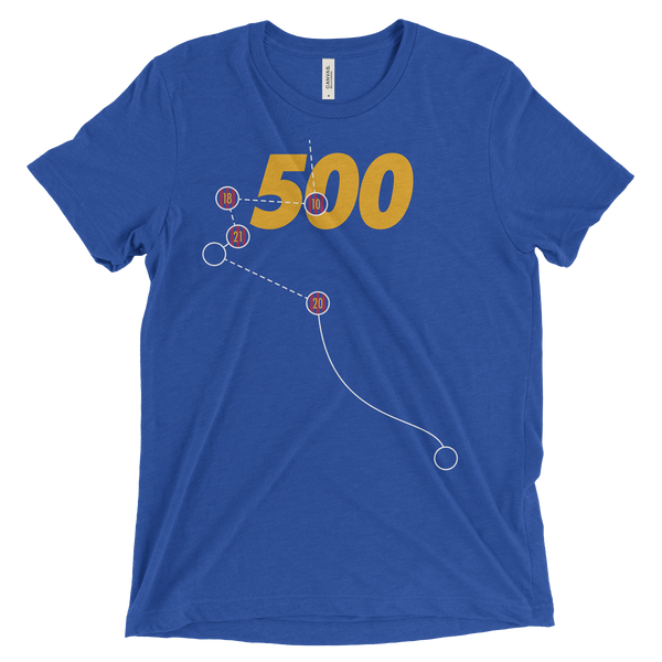 Messi's 500th Goal Shirt