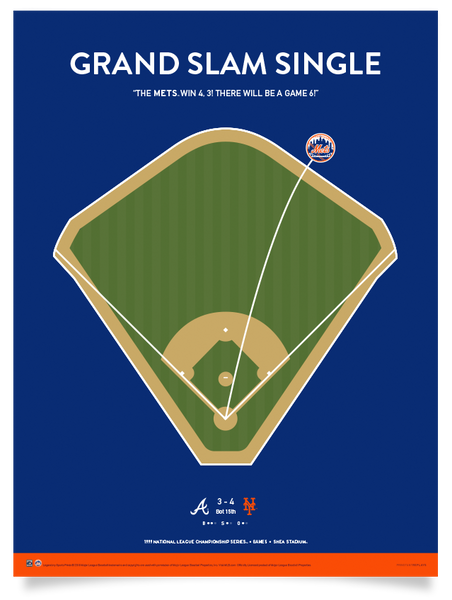 Mets Grand Slam Single Print
