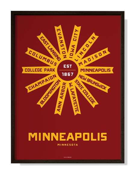 Minneapolis, Minnesota Print