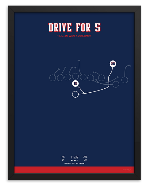 Drive for 5