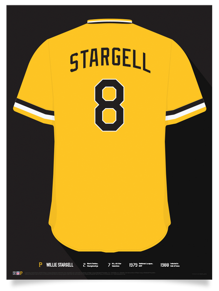 Pirates Willie Stargell Jersey Print