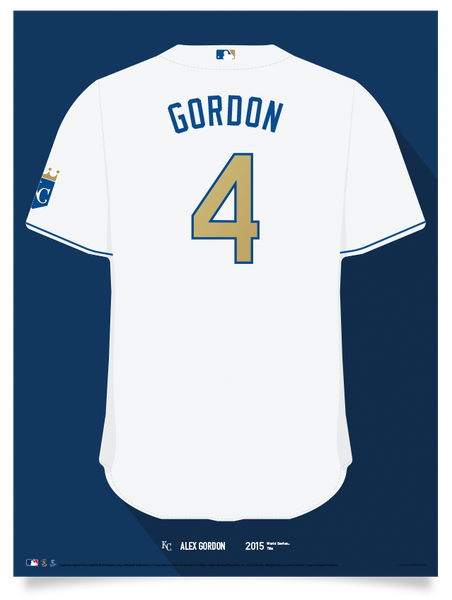Royals Alex Gordon Jersey Print