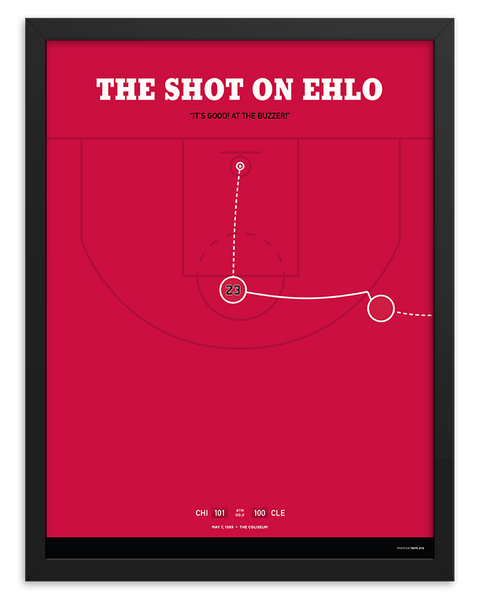 The Shot on Ehlo