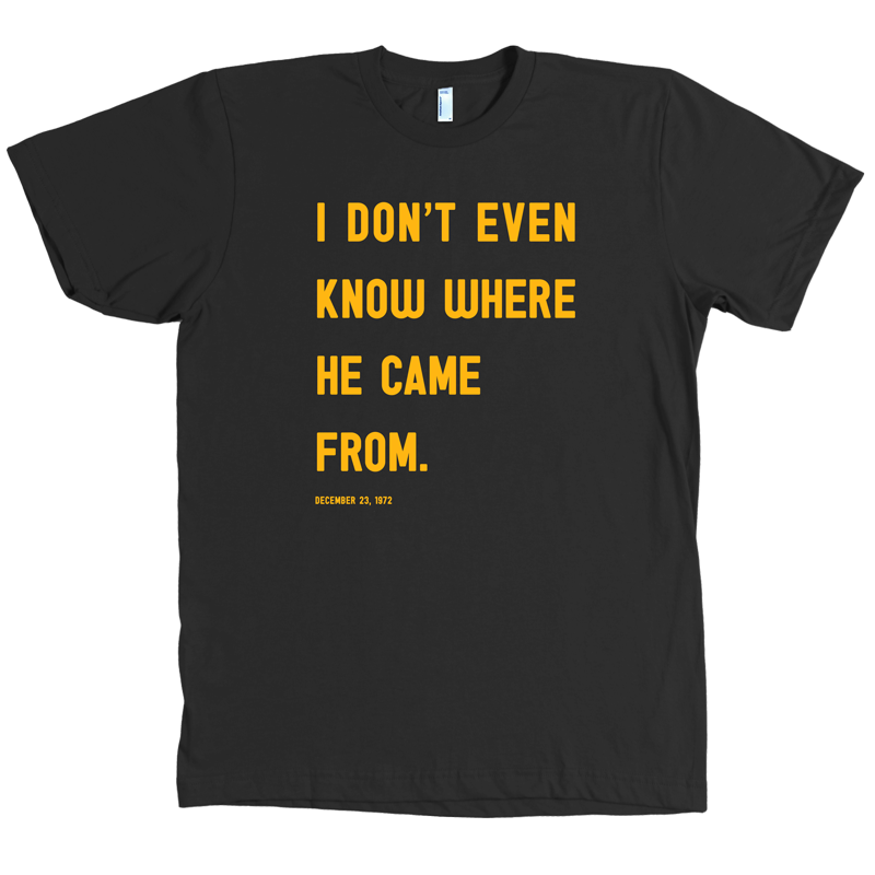 Immaculate Reception Quote Shirt