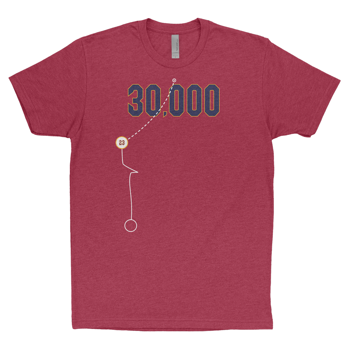 Cleveland 30,000 Points Shirt