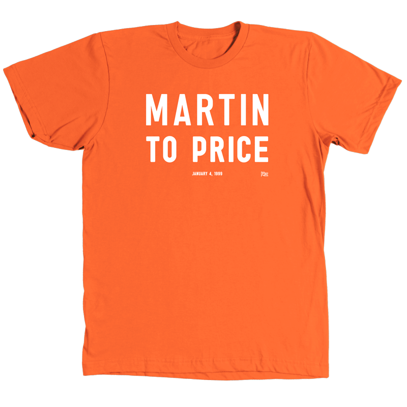Martin to Price Quote Shirt