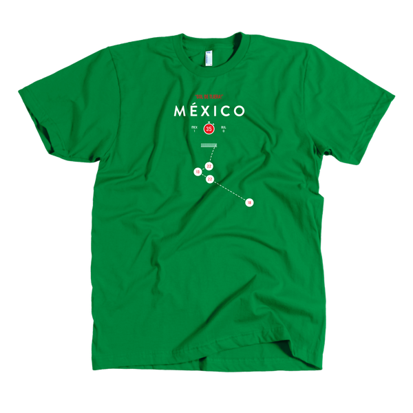Mexico - Negrete 1986 (Shirt)