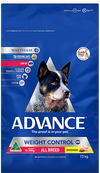 Advance Adult All Breed Weight Control 17kg at Buckhams General Produce