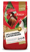 Jenco 16% Coarse Layer Mash 20kg at Buckhams General Produce