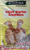 Riverina Chick Starter Crumbles 20kg at Buckhams General Produce