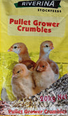 Riverina Pullet Grower Crumbles 20kg at Buckhams General Produce