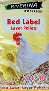Riverina Red Label Layer Pellets at Buckhams General Produce