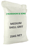 McMahon Shell Grit Medium 25kg