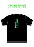 Bottle Days, T-SHIRT, Chartreuse Kitchen & Cocktails - DETROIT HUSTLES HARDER®