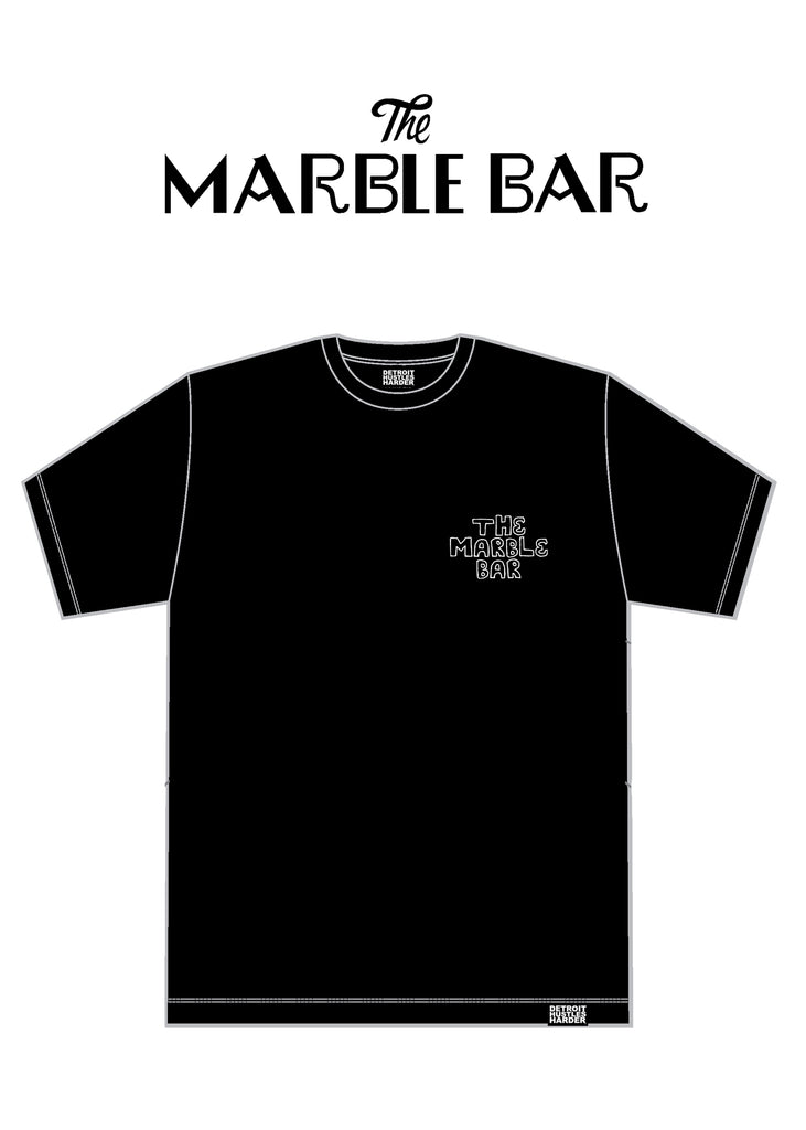 Tongue Tee, T-SHIRT, Marble Bar - DETROIT HUSTLES HARDER®
