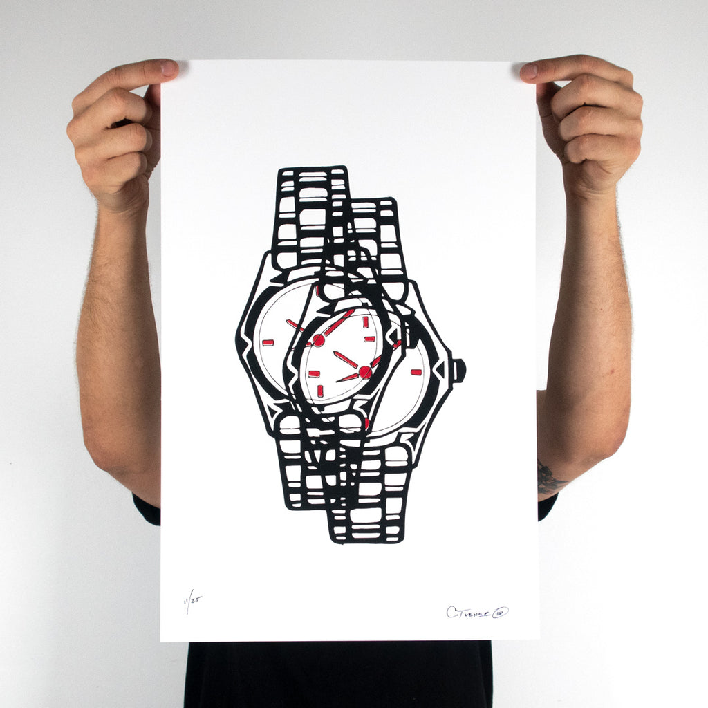 Wristwatch Print, Prints, Chris Turner - DETROIT HUSTLES HARDER®