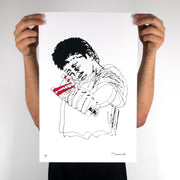 Slingshot Print, Prints, Chris Turner - DETROIT HUSTLES HARDER®
