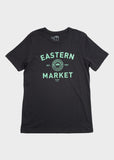 Short Sleeve T-Shirt Gary Design, T-SHIRT, Murals in the Market - DETROIT HUSTLES HARDER®