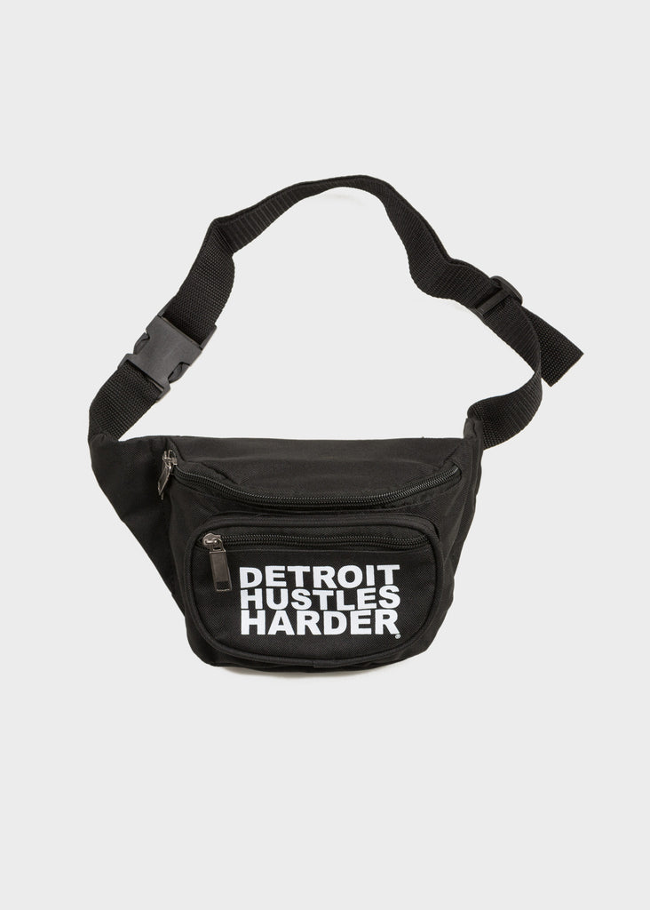 DETROIT HUSTLES HARDER® Fanny Pack, Bum Bag, DETROIT HUSTLES HARDER® - DETROIT HUSTLES HARDER®