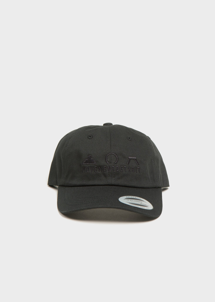 Icons Dad Hat, Headwear, Movement - DETROIT HUSTLES HARDER®