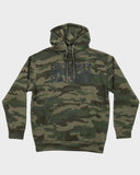 Classic Logo Fleece Pullover Camouflage Hoodie, Sweatshirt, DETROIT HUSTLES HARDER® - DETROIT HUSTLES HARDER®