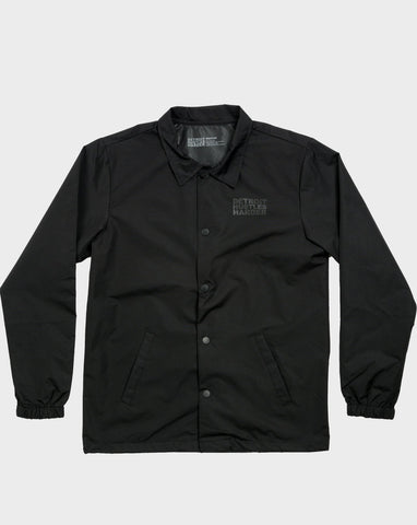 Classic Logo Water Resistant Coaches Jacket, Jacket, DETROIT HUSTLES HARDER® - DETROIT HUSTLES HARDER®