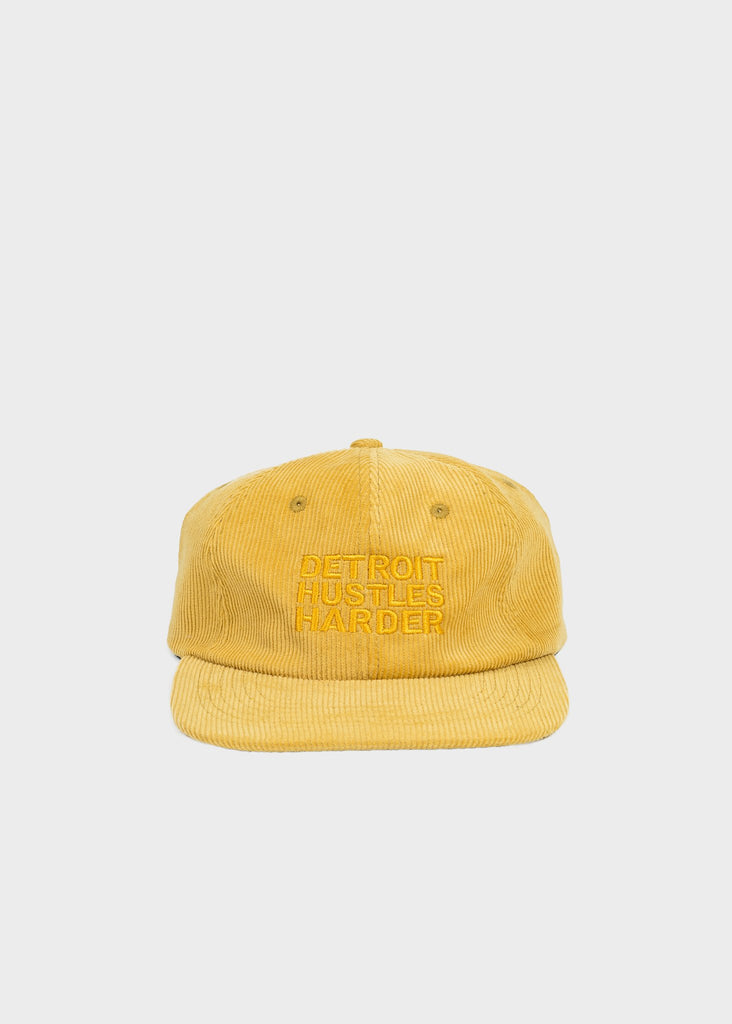 Dijon Corduroy Unconstructed 6 Panel Hat, Headwear, DETROIT HUSTLES HARDER® - DETROIT HUSTLES HARDER®