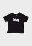 Listen to Detroit Techno Toddler Short Sleeve T-Shirt, T-SHIRT, Movement - DETROIT HUSTLES HARDER®