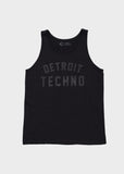 Detroit Techno Fine Jersey Tank, Tank Top, Movement - DETROIT HUSTLES HARDER®