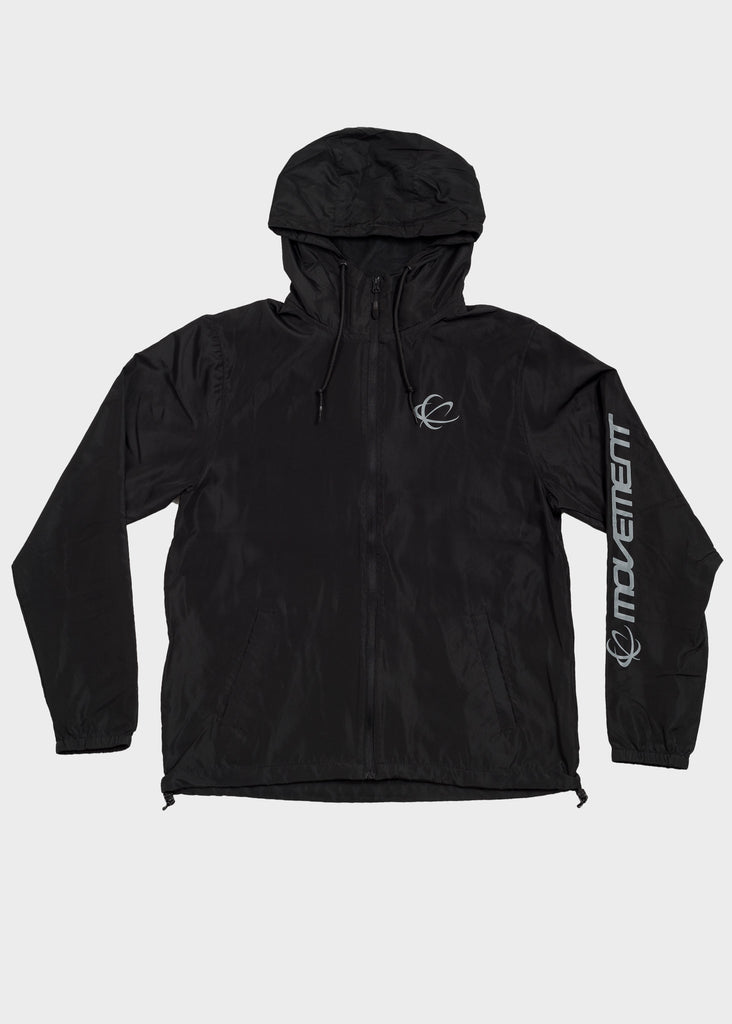 Movement Orbit Logo Water Resistant Windbreaker, Jacket, Movement - DETROIT HUSTLES HARDER®