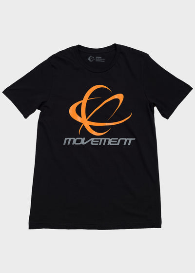 Movement Orbit Logo Short Sleeve T-Shirt, T-SHIRT, Movement - DETROIT HUSTLES HARDER®